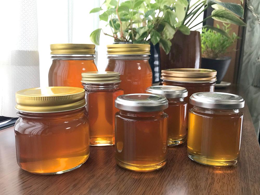 瓶詰めした蜂蜜